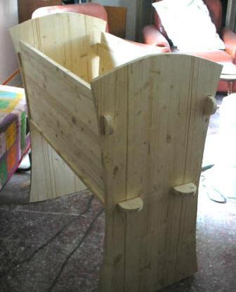 Costruire Una Culla A Dondolo.Culla In Legno